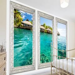 Selbstklebende Fototapete - Einsame Insel
