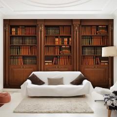 Selbstklebende Fototapete - Elegant Library