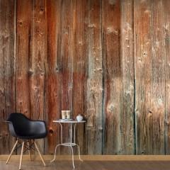Basera® Selbstklebende Fototapete Holzmotiv f-A-0514-a-a, mit UV-Schutz