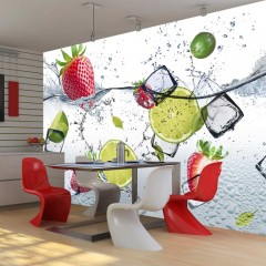 Selbstklebende Fototapete - Fruit cocktail