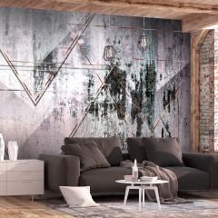 Selbstklebende Fototapete - Geometric Wall