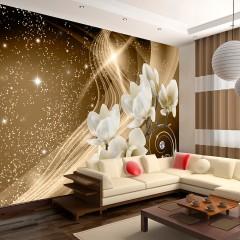 Selbstklebende Fototapete - Golden Milky Way