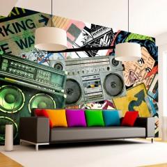 Basera® Selbstklebende Fototapete Street Art-Motiv 10110907-12, mit UV-Schutz
