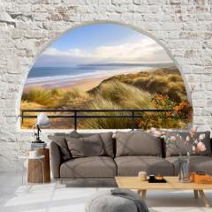 Selbstklebende Fototapete - Hidden Beach
