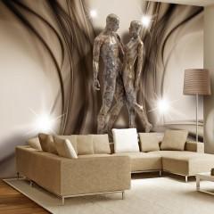Selbstklebende Fototapete - In marble embrace