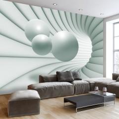Basera® Selbstklebende Fototapete 3D-Motiv a-A-0154-a-d, mit UV-Schutz
