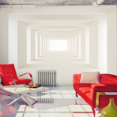Basera® Selbstklebende Fototapete 3D-Motiv a-A-0124-a-b, mit UV-Schutz