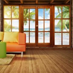 Basera® Selbstklebende Fototapete Meeresmotiv 10110903-37, mit UV-Schutz