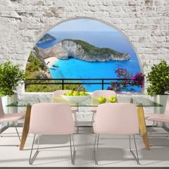 Basera® Selbstklebende Fototapete mediterranes Motiv c-A-0051-a-b, mit UV-Schutz