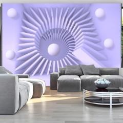 Selbstklebende Fototapete - Lavender maze