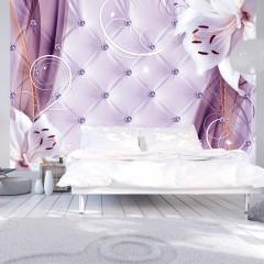 Basera® Selbstklebende Fototapete Lilienmotiv b-A-0233-a-d, mit UV-Schutz