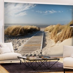 Selbstklebende Fototapete - Lonely Beach