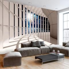 Basera® Selbstklebende Fototapete Architekturmotiv n-C-0007-a-b, mit UV-Schutz