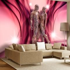 Basera® Selbstklebende Fototapete Menschenmotiv h-A-0014-a-d, mit UV-Schutz