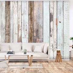 Basera® Selbstklebende Fototapete Holzmotiv f-C-0423-a-a, mit UV-Schutz
