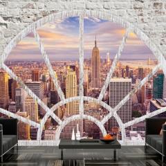 Basera® Selbstklebende Fototapete Motiv New York d-A-0043-a-c, mit UV-Schutz