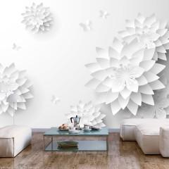 Selbstklebende Fototapete - Oriental Flowers