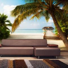 Selbstklebende Fototapete - Paradise beach