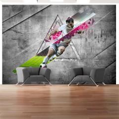 Basera® Selbstklebende Fototapete Sportmotiv 10110907-5, mit UV-Schutz