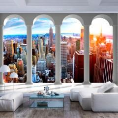 Basera® Selbstklebende Fototapete Motiv New York d-C-0075-a-a, mit UV-Schutz