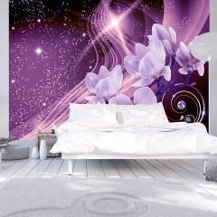 Selbstklebende Fototapete - Purple Milky Way