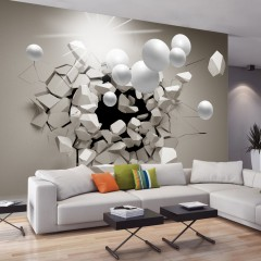 Basera® Selbstklebende Fototapete 3D-Motiv a-C-0002-a-b, mit UV-Schutz