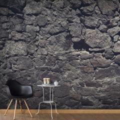 Basera® Selbstklebende Fototapete Steinmotiv f-A-0496-x-g, mit UV-Schutz