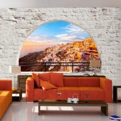 Selbstklebende Fototapete - Santorini