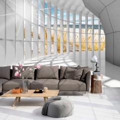 Basera® Selbstklebende Fototapete Motiv visuelle Raumvergrößerung c-C-0020-a-a, mit UV-Schutz