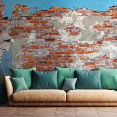 Selbstklebende Fototapete - Secrets of the Wall