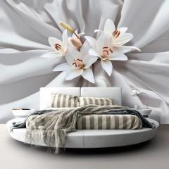 Selbstklebende Fototapete - Sensual Lilies