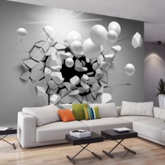 Basera® Selbstklebende Fototapete 3D-Motiv a-C-0002-a-d, mit UV-Schutz