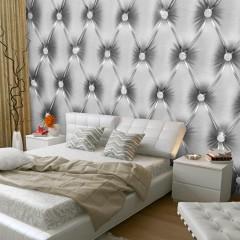 Selbstklebende Fototapete - Silver Luxury