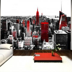 Selbstklebende Fototapete - Sin City