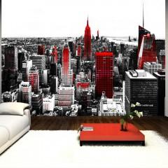 Basera® Selbstklebende Fototapete Motiv New York 10110904-61, mit UV-Schutz