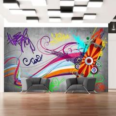 Basera® Selbstklebende Fototapete Street Art-Motiv 10110905-15, mit UV-Schutz