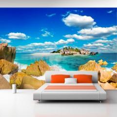 Basera® Selbstklebende Fototapete Meeresmotiv c-A-0028-a-a, mit UV-Schutz