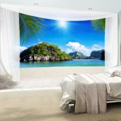 Basera® Selbstklebende Fototapete Meeresmotiv 10110903-45, mit UV-Schutz