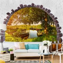 Selbstklebende Fototapete - Sommersee