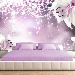 Selbstklebende Fototapete - Spell of lily