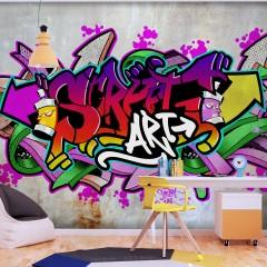 Selbstklebende Fototapete - Street Classic (Colourful)