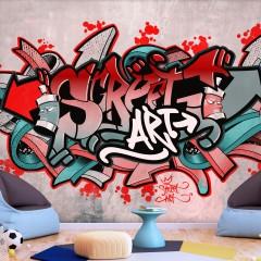 Basera® Selbstklebende Fototapete Street Art-Motiv i-A-0158-a-b, mit UV-Schutz