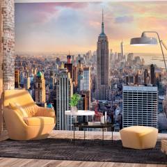Basera® Selbstklebende Fototapete Motiv New York d-B-0255-a-a, mit UV-Schutz