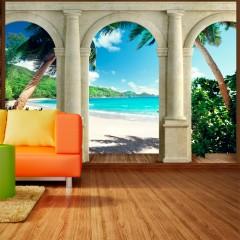 Basera® Selbstklebende Fototapete Meeresmotiv 10110903-16, mit UV-Schutz