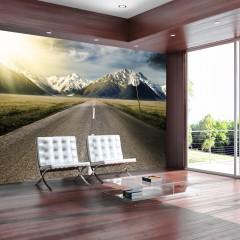 Basera® Selbstklebende Fototapete Bergmotiv c-A-0029-a-a, mit UV-Schutz
