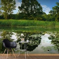 Selbstklebende Fototapete - The Magic Pond II