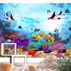 Selbstklebende Fototapete - Underwater Fun