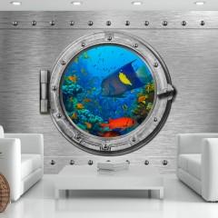 Basera® Selbstklebende Fototapete Meeresmotiv f-A-0291-a-c, mit UV-Schutz