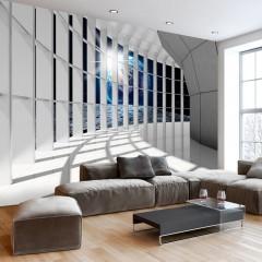 Basera® Selbstklebende Fototapete Architekturmotiv n-C-0007-a-d, mit UV-Schutz