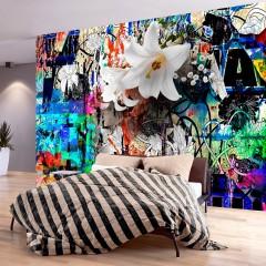 Basera® Selbstklebende Fototapete Street Art-Motiv f-A-0608-a-a, mit UV-Schutz